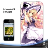 Чехлы iPhone Touhou Project Kirisame Marisa   Кейс для  iPhone 4 / 4s / 5