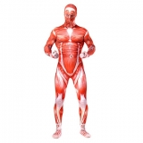 Костюмы - Зентай Attack on Titan Colossus Titan Bertolt Hoover Unisex Full Body Zentai