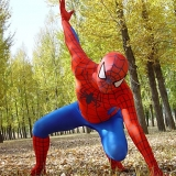 Костюмы - Зентай Red and Blue Lycra Full Body Spiderman Zentai
