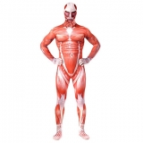Костюмы - Зентай Attack on Titan Colossus Titan Unisex Full Body Zentai